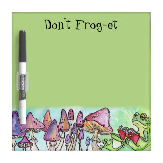 """Don't Frog-et"" Froggy Reading Dry-Erase Board"