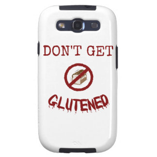 Don't Get Glutened Samsung Galaxy SIII Covers