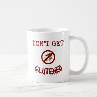Don't Get Glutened Classic White Coffee Mug