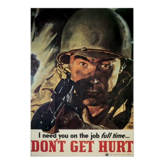 Don't Get Hurt Poster