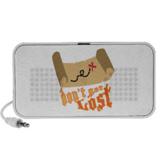 Dont Get Lost Portable Speaker