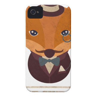 Dont Give A Fox Comic Animal iPhone 4 Case