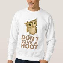 Don't Give a Hoot Men's Basic Sweatshirt