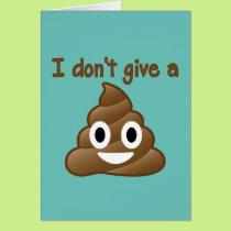 Don't Give An Emoji Poop Card