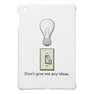 Don't give me any ideas. cover for the iPad mini