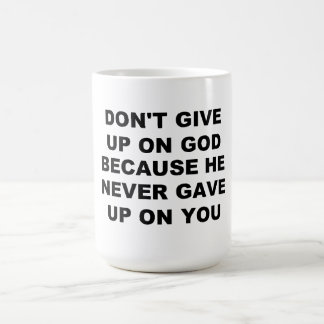 Don't Give Up Mug
