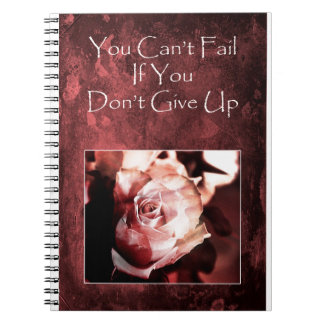 Don't Give Up! Notebook