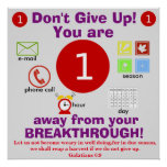 Don't Give Up! Poster