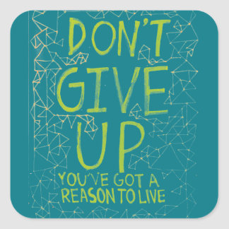 Don't Give Up Stickers