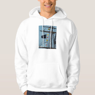 Don't Give Up The Ship Flag Hoodie/T-Shirt Hooded Sweatshirt