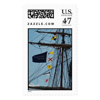 Don't Give Up The Ship Flag Postage
