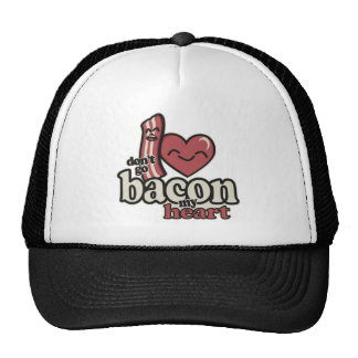 Don't go Bacon my Heart Mesh Hat