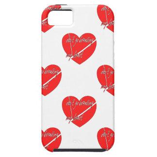 DON'T GO BREAKING MY HEART iPhone SE/5/5s CASE