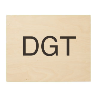 don't go there.ai wood wall art