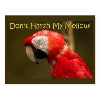 Don't Harsh My Mellow. Postcard