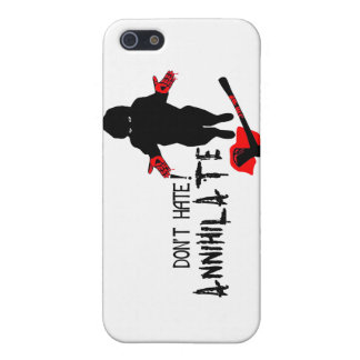 Don't Hate! Annihilate Cover For iPhone SE/5/5s