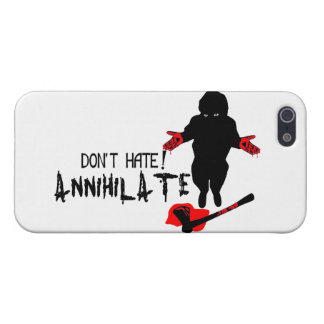 Don't Hate! Annihilate iPhone SE/5/5s Case