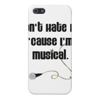 Don't Hate Me 'Cause I'm Musical iPhone SE/5/5s Cover
