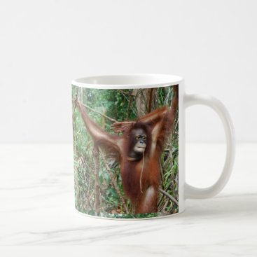Beach Themed Don't Hate Me for Being Beautiful Funny Apes Coffee Mug