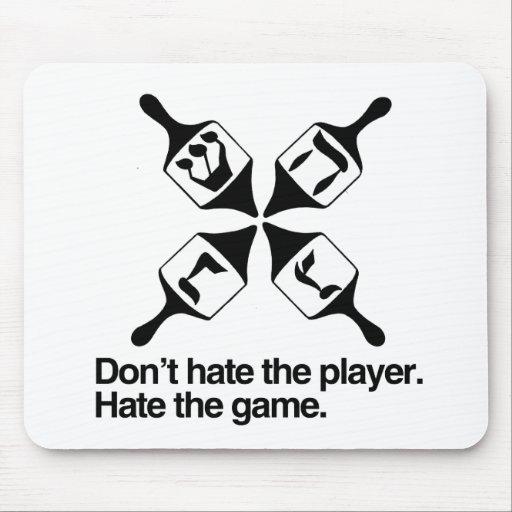 DON'T HATE THE DREIDEL PLAYER MOUSEPADS