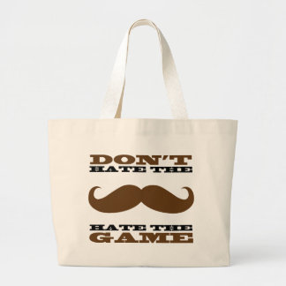 Don't Hate the Mustache Bag