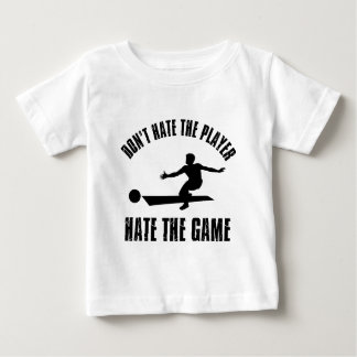 Don't hate the player Funny Bowling designs Baby T-Shirt