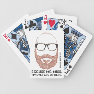 Don't Hate the Player, Nor the Game. Bicycle Playing Cards