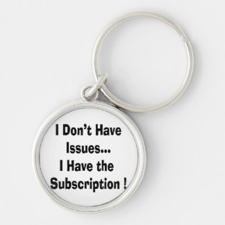 dont have issues have subscription bk funny keychain