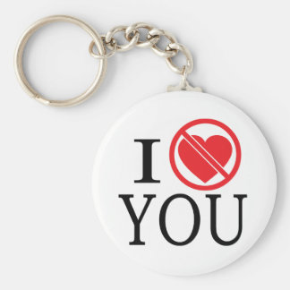 Don't Heart You Keychains