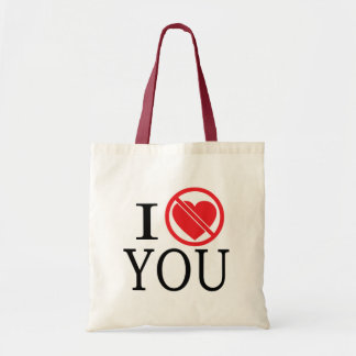 Don't Heart You Tote Bag