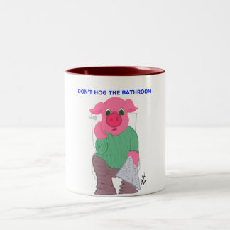 Don't Hog the Bathroom Mug