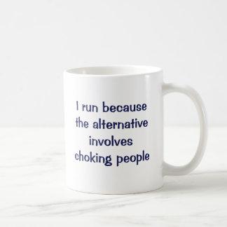 Don't hurt 'em classic white coffee mug