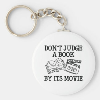 Don't Judge A Book By Its Movie Keychain
