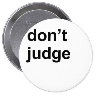 Don't judge button