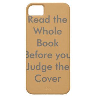 dont judge iphone 5/5s phone case