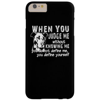 Don't Judge Me Barely There iPhone 6 Plus Case