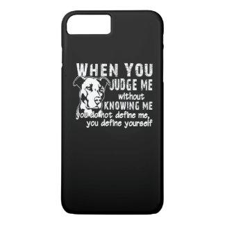 Don't Judge Me iPhone 8 Plus/7 Plus Case