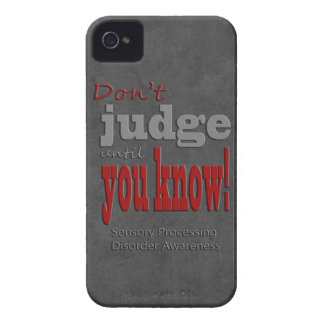 Don't judge until you know iPhone 4 Case-Mate case
