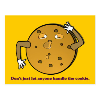 Dont just let the TSA handle your cookies Postcard