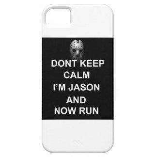 Dont Keep Calm, Im Jason iPhone 5 case