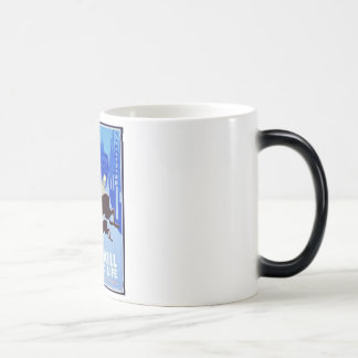 Don't Kill Our Wildlife WPA FAP Poster Magic Mug