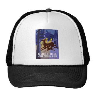 Don't Kill Wildlife Mesh Hat