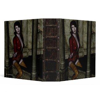 Don't Leave Me Vampire Gothic Binder binder