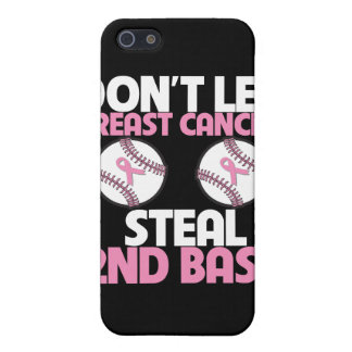 Don't Let Breast Cancer Steal 2nd Base Covers For iPhone 5