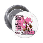 Don't Let Breast Cancer Steal 2nd Base Pins