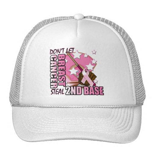 Don't Let Breast Cancer Steal 2nd Base Trucker Hat