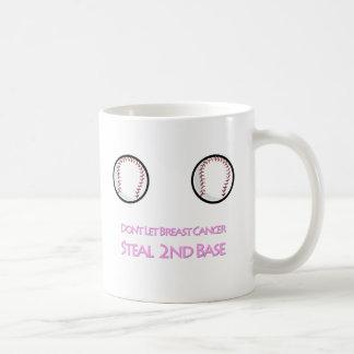 Don't let Breast Cancer Steal Second Base Mug
