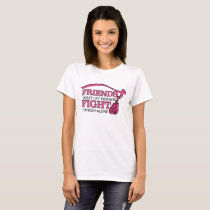 Don't Let Friends Fight Cancer Alone Support T-Shirt