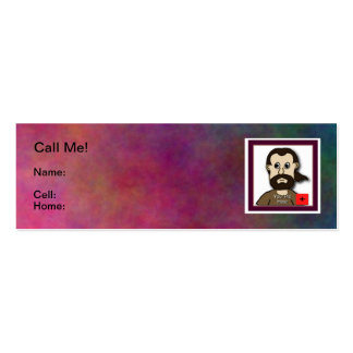 Don't let him get away Card Double-Sided Mini Business Cards (Pack Of 20)