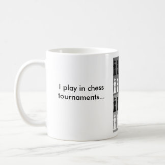 Don't let me intimidate you coffee mug
